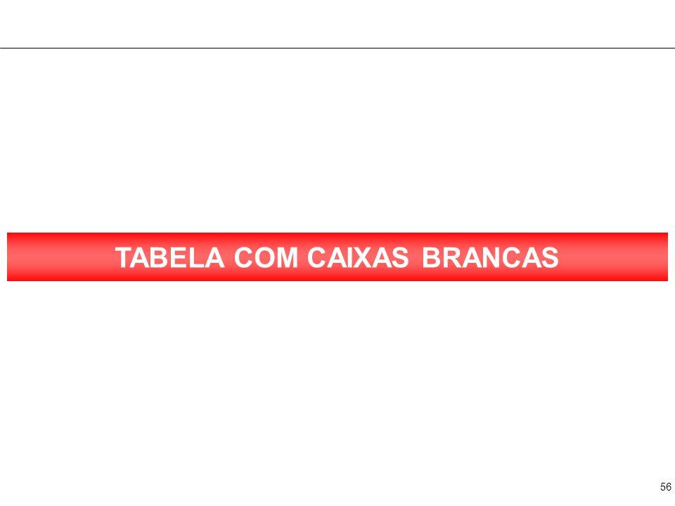 56 TABELA COM CAIXAS BRANCAS
