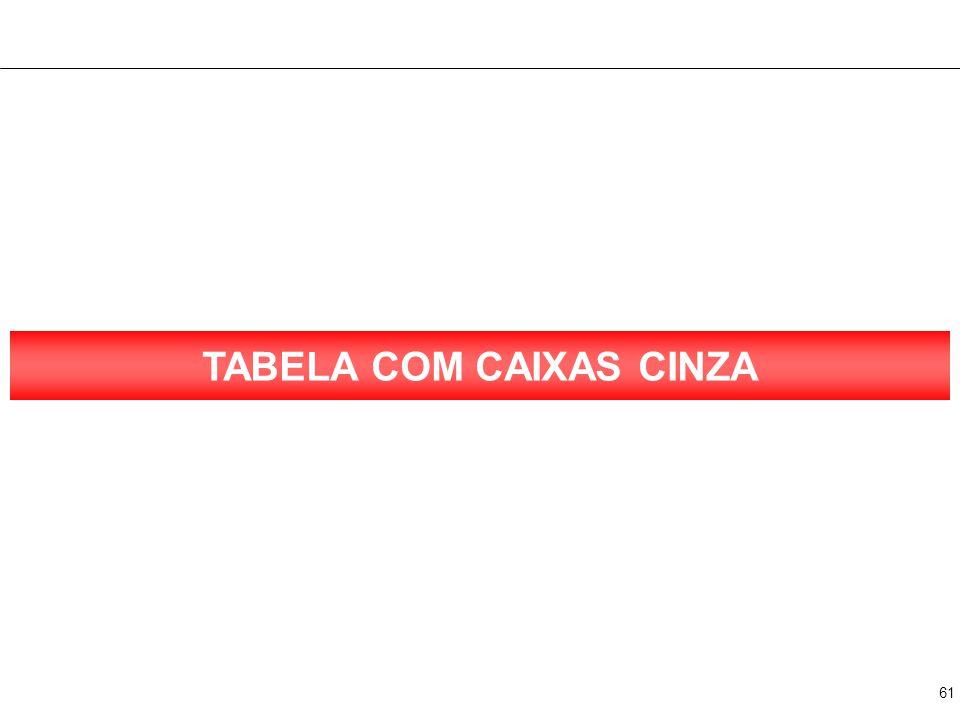 61 TABELA COM CAIXAS CINZA