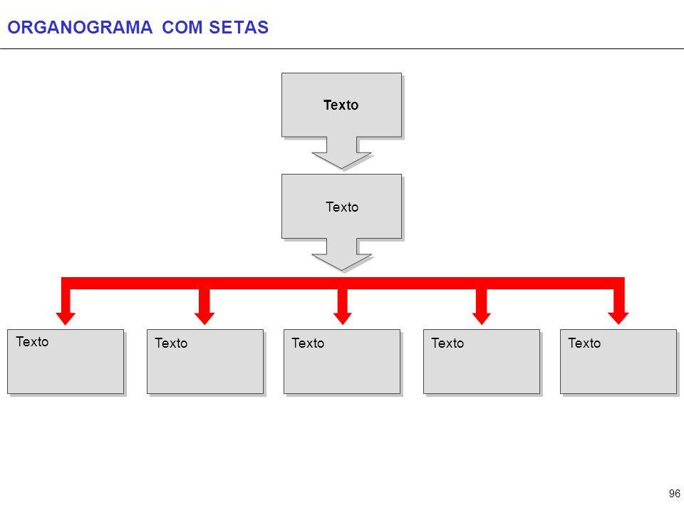 96 ORGANOGRAMA COM SETAS Texto