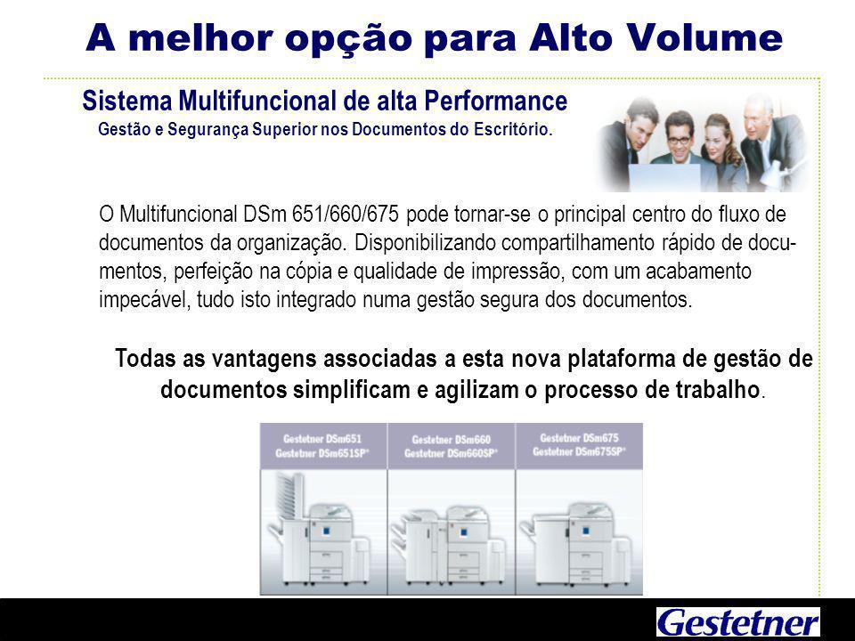 Sistema Multifuncional de alta Performance Gestão e Segurança Superior nos Documentos do Escritório.