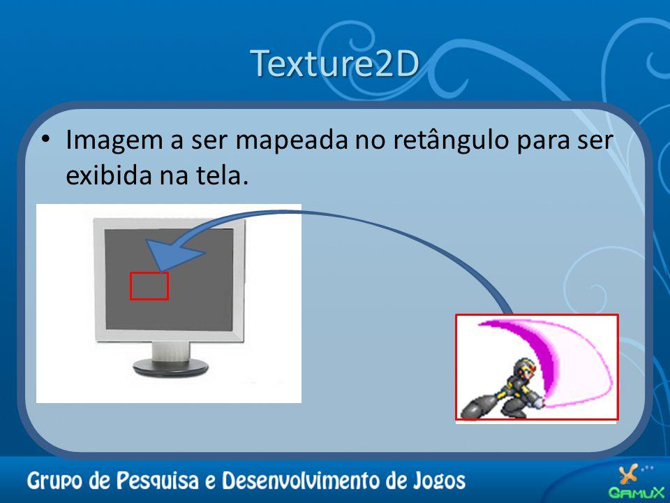Texture2D Imagem a ser mapeada no retângulo para ser exibida na tela. 21
