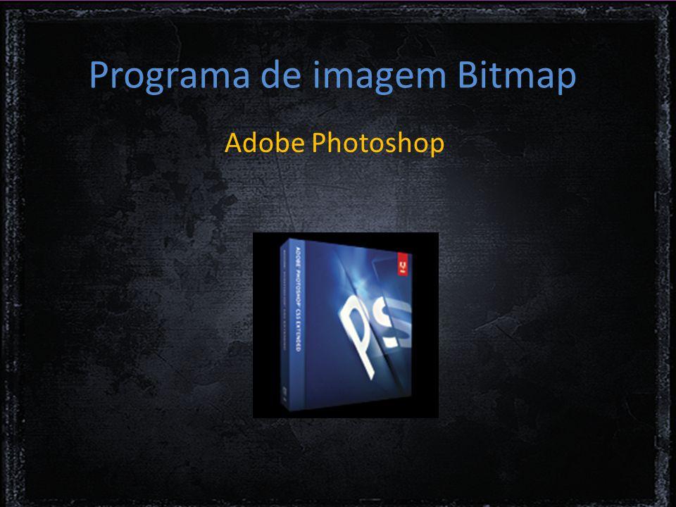 Programa de imagem Bitmap Adobe Photoshop