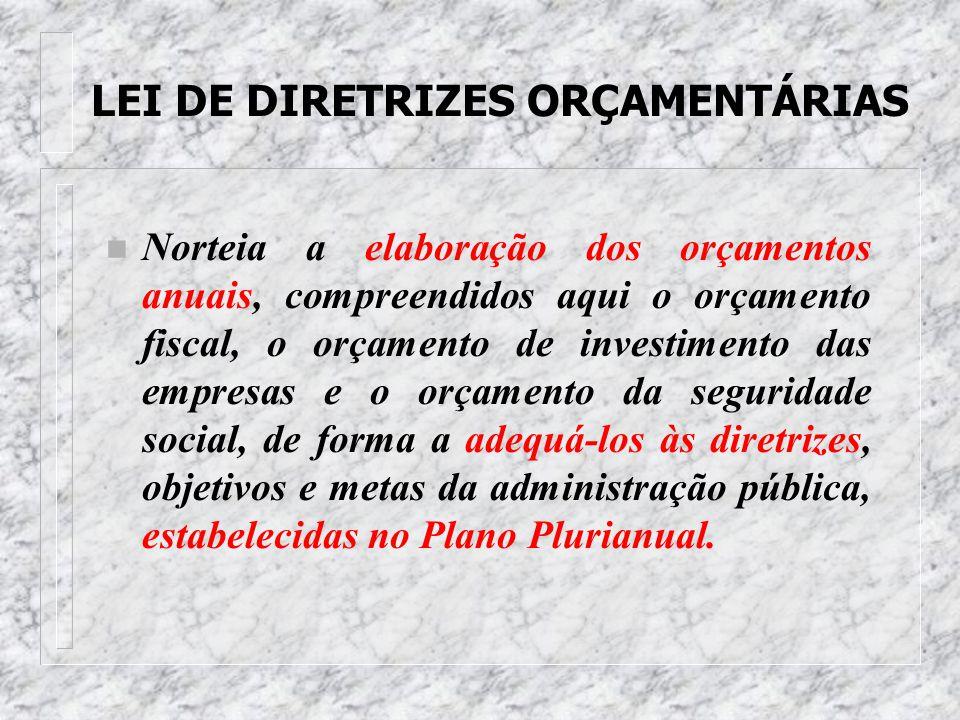 PLANO PLURIANUAL 4 É um plano de médio prazo, através do qual procura-se ordenar as ações do governo que levem ao alcance dos objetivos e metas fixado
