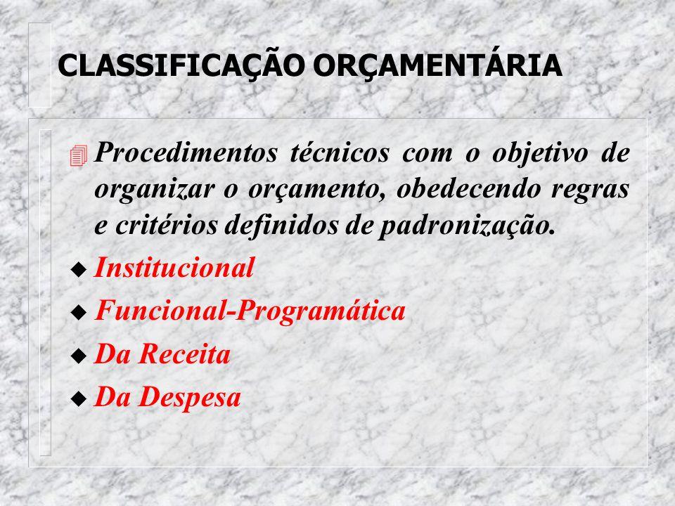 LEI DE ORÇAMENTO ANUAL 4 Viabiliza a realização das situações planejadas no Plano Plurianual, transformando-as em realidade. s Orçamento Fiscal s Orça