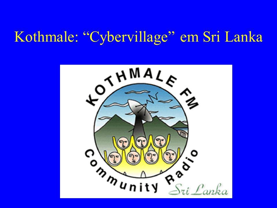 """Kothmale: """"Cybervillage"""" em Sri Lanka"""