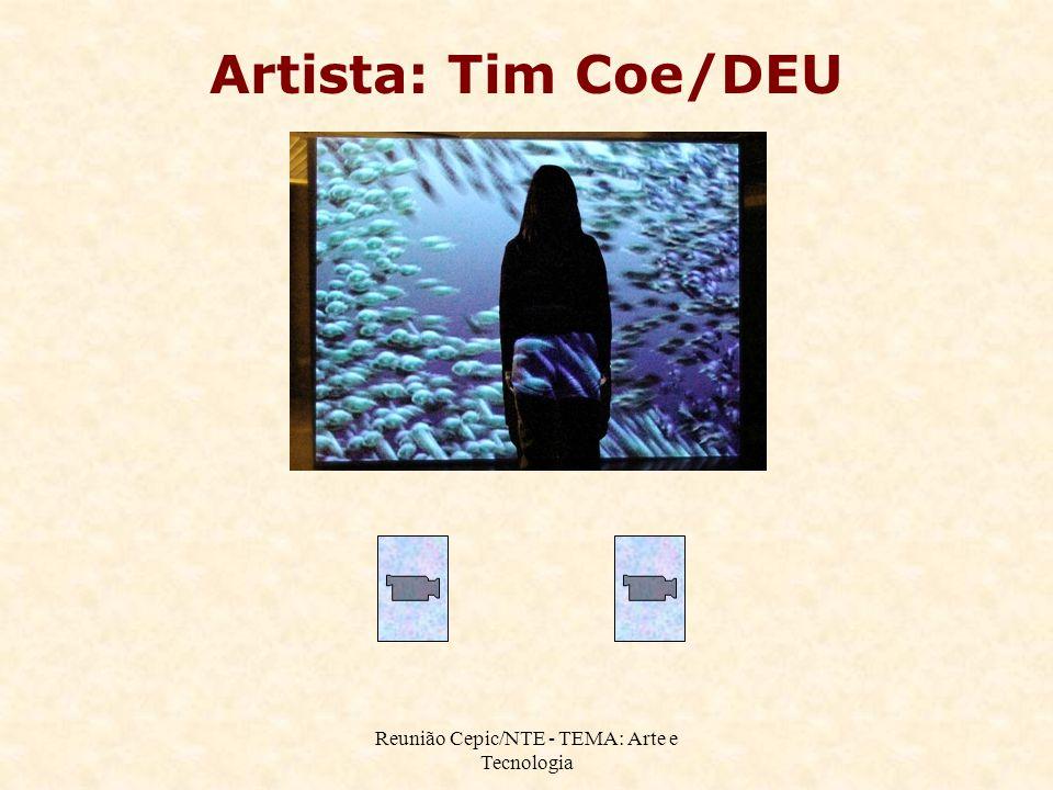 Reunião Cepic/NTE - TEMA: Arte e Tecnologia Artista: Tim Coe/DEU