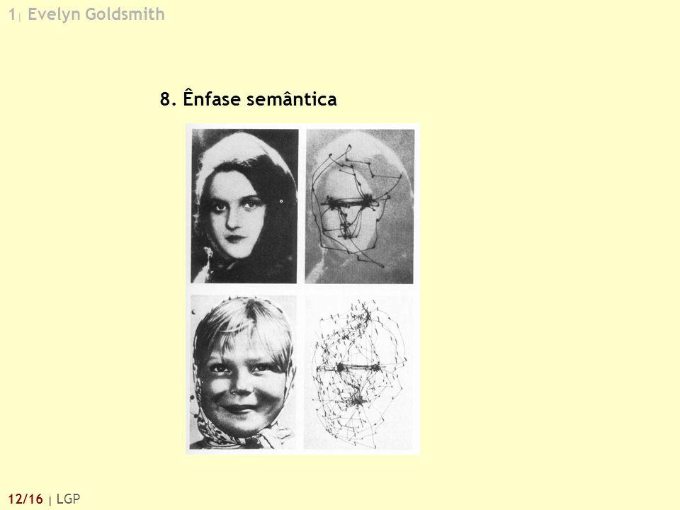 1 | Evelyn Goldsmith 12/16 | LGP 8. Ênfase semântica