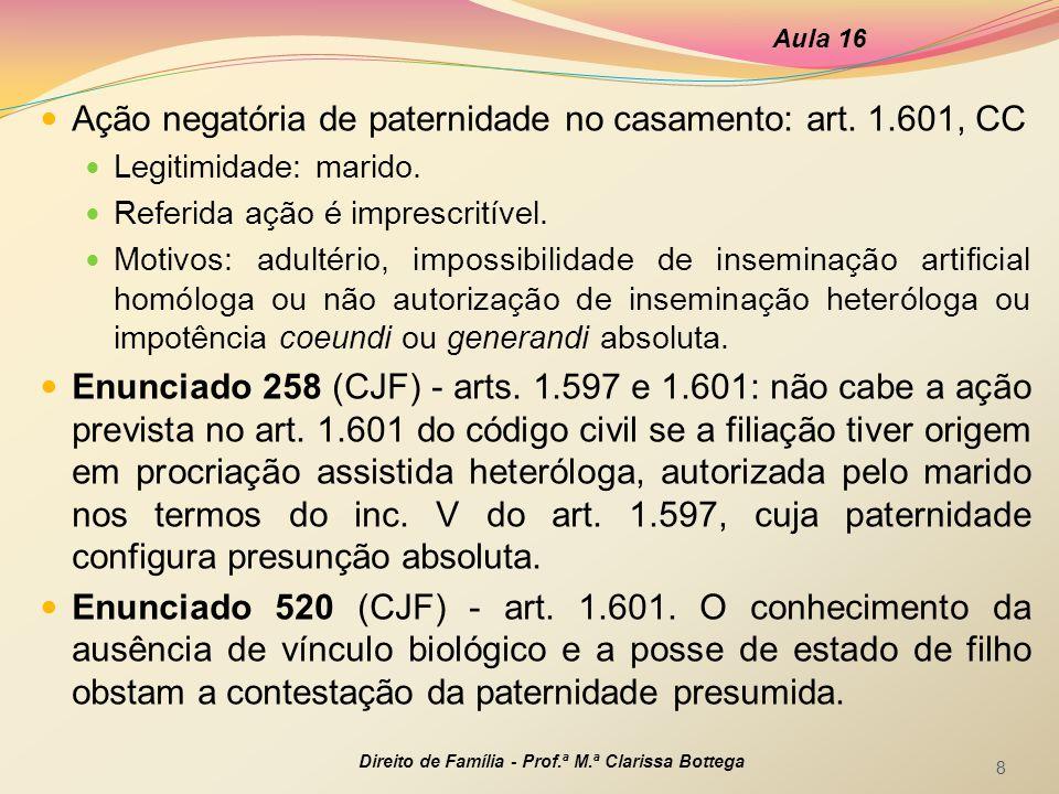 Prova da filiação: certidão do registro de nascimento (art.