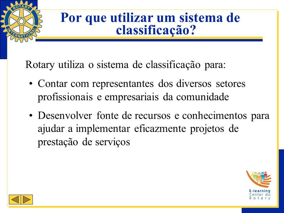 Exemplos de classificações Escolas secundárias Administração bancária Seguradoras Área farmacêutica Universidades Cirurgia oftálmica Distribuição de petróleo