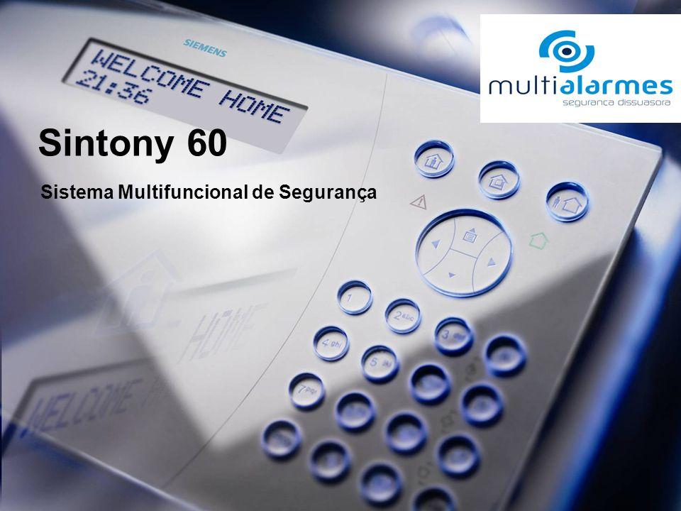 Sintony 60 Sistema Multifuncional de Segurança
