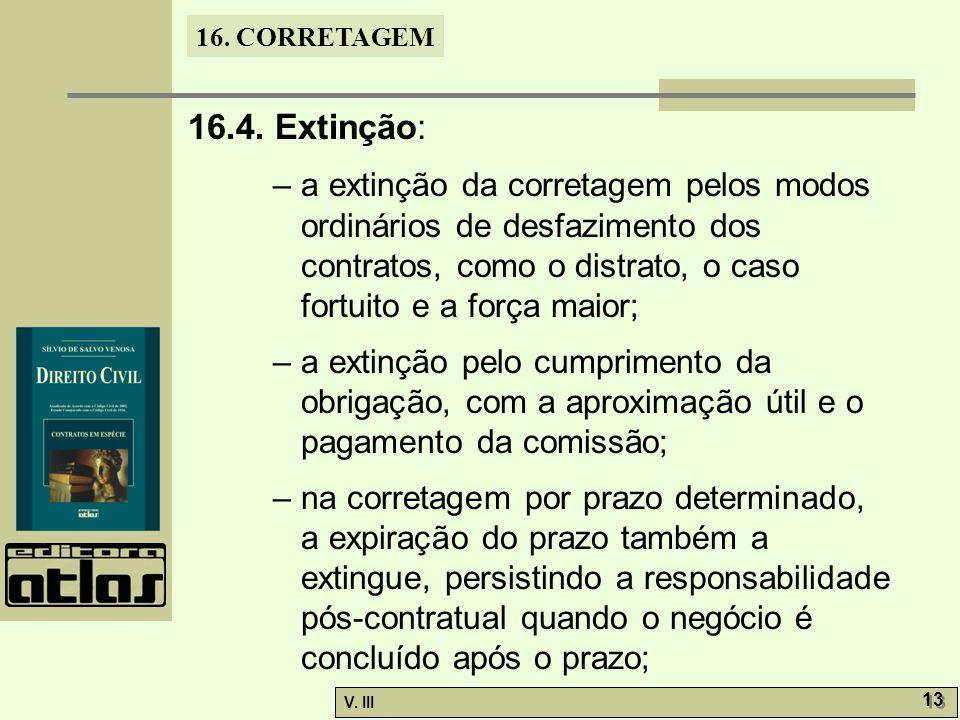 16. CORRETAGEM V. III 13 16.4.