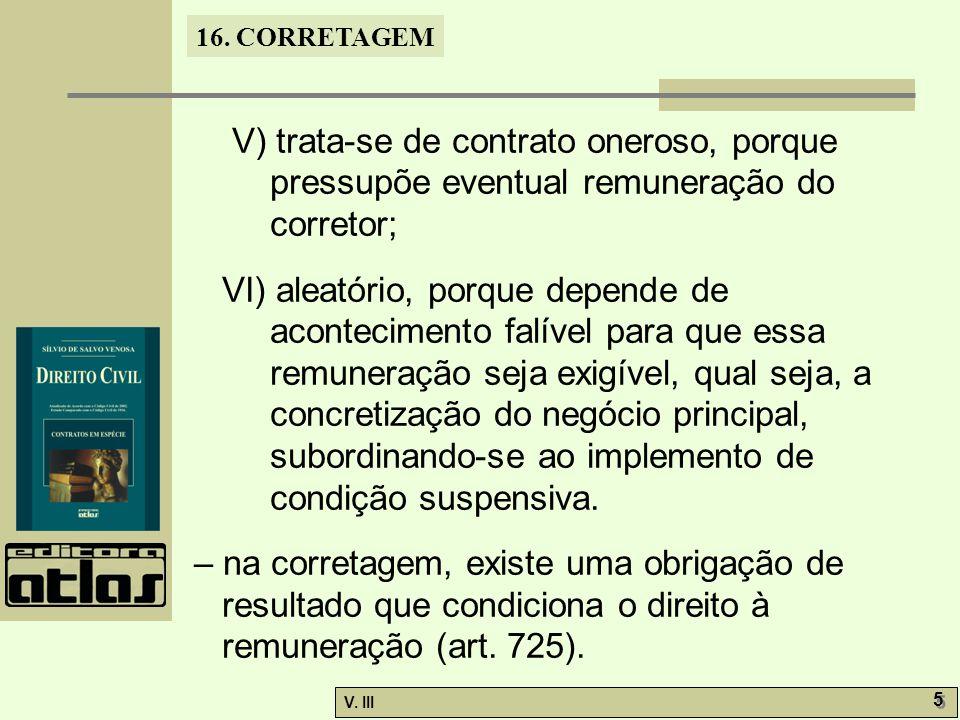 16.CORRETAGEM V. III 6 6 16.2.