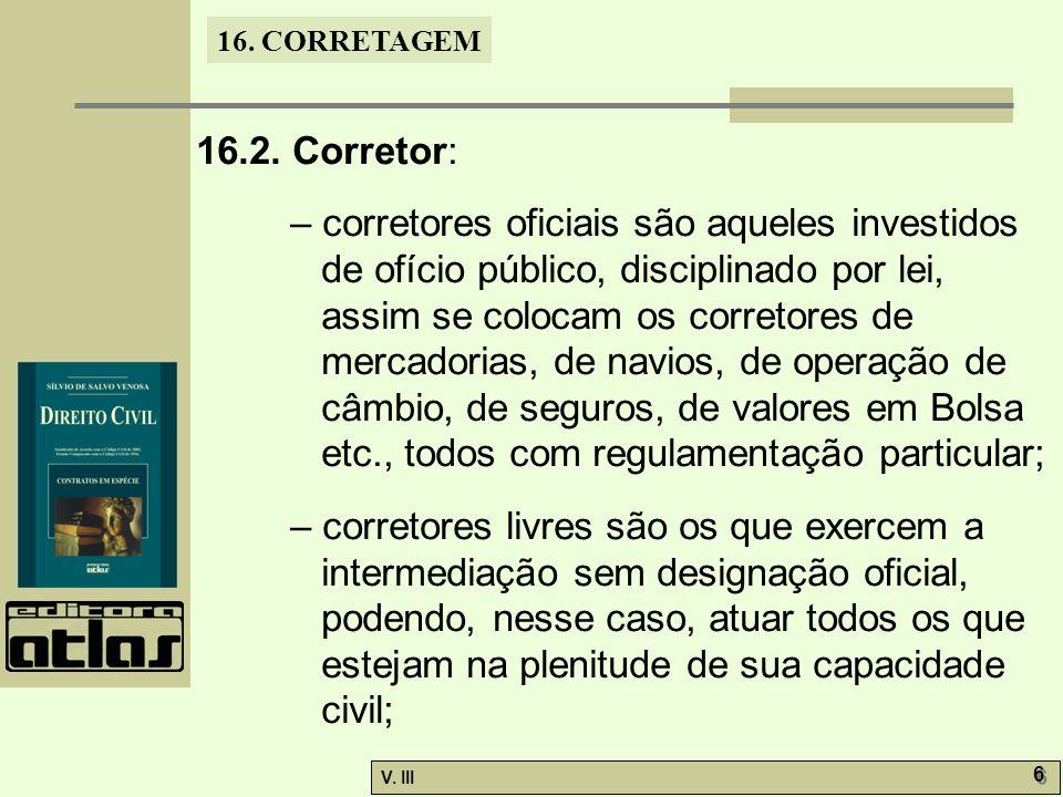 16. CORRETAGEM V. III 6 6 16.2.