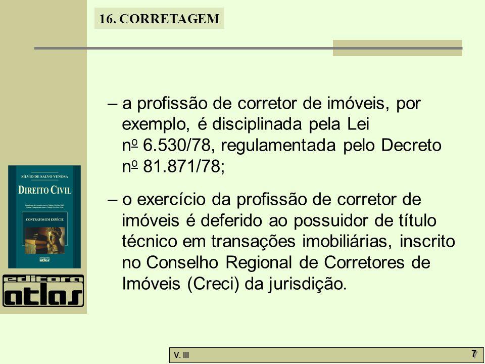 16. CORRETAGEM V.