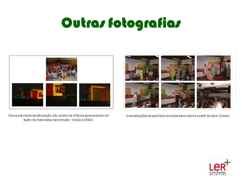 """Outras fotografias Numa actividade de articulação, três Jardins de Infância apresentaram um teatro de marionetas denominado """"Araújo e Ofélia"""". Dramati"""