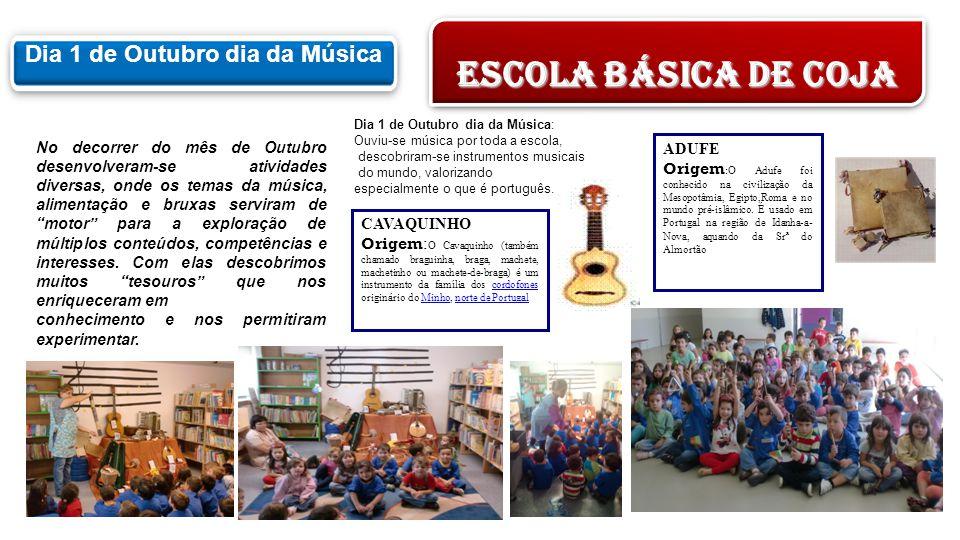 Granizo Geada NeblinaFonte Rio No decorrer do mês de Outubro desenvolveram-se atividades diversas, onde os temas da música, alimentação e bruxas servi