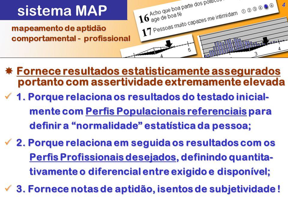 4  Fornece resultados estatisticamente assegurados portanto com assertividade extremamente elevada portanto com assertividade extremamente elevada 1.