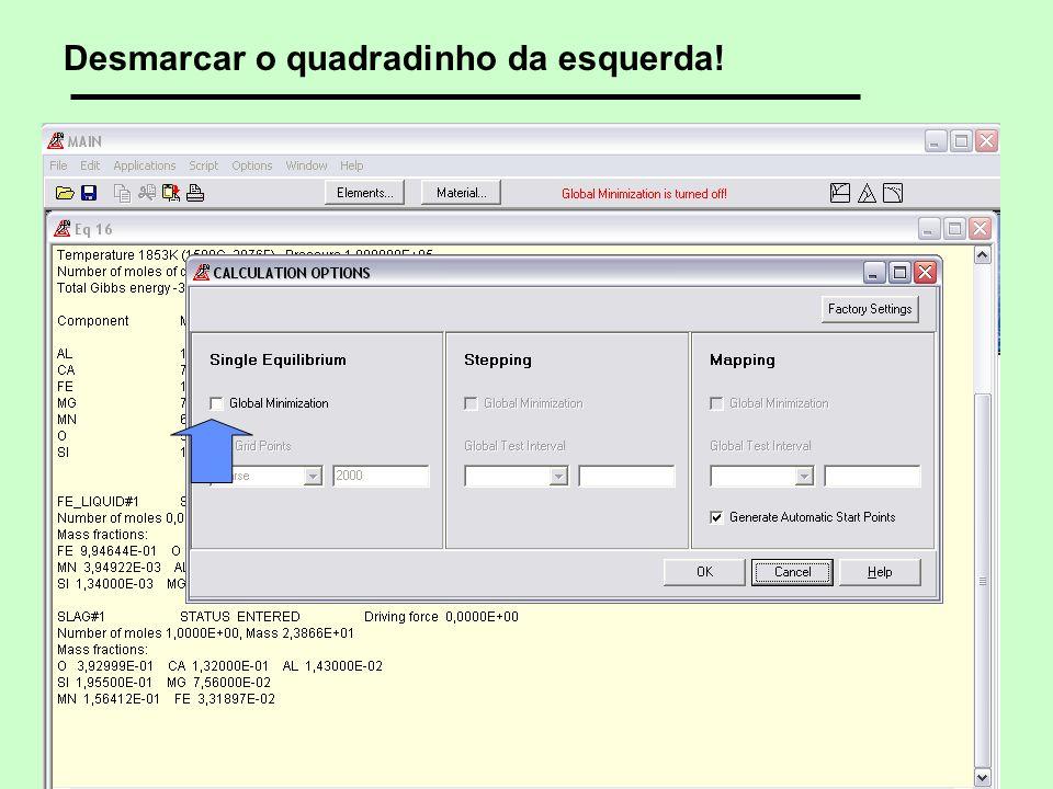 7 © 2005, 2007, 2012 André Luiz V. da Costa e Silva Desmarcar o quadradinho da esquerda!