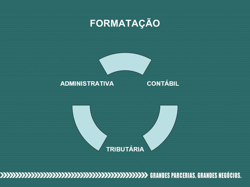 FORMATAÇÃO CONTÁBIL TRIBUTÁRIA ADMINISTRATIVA