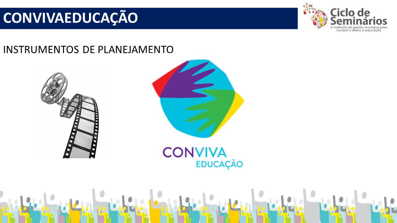CONVIVAEDUCAÇÃO INSTRUMENTOS DE PLANEJAMENTO