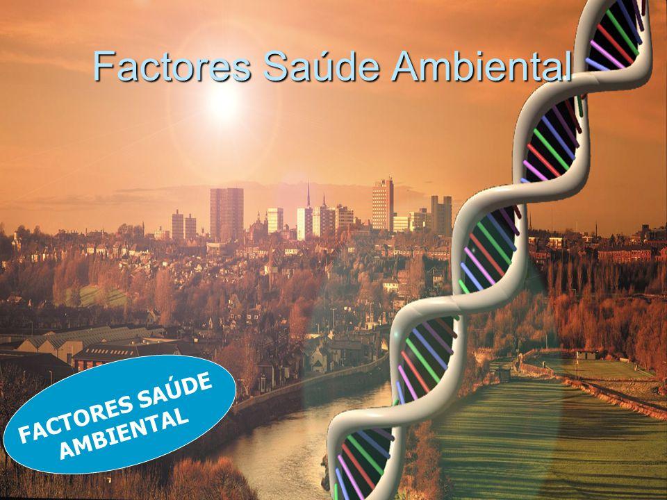Factores Saúde Ambiental FACTORES SAÚDE AMBIENTAL