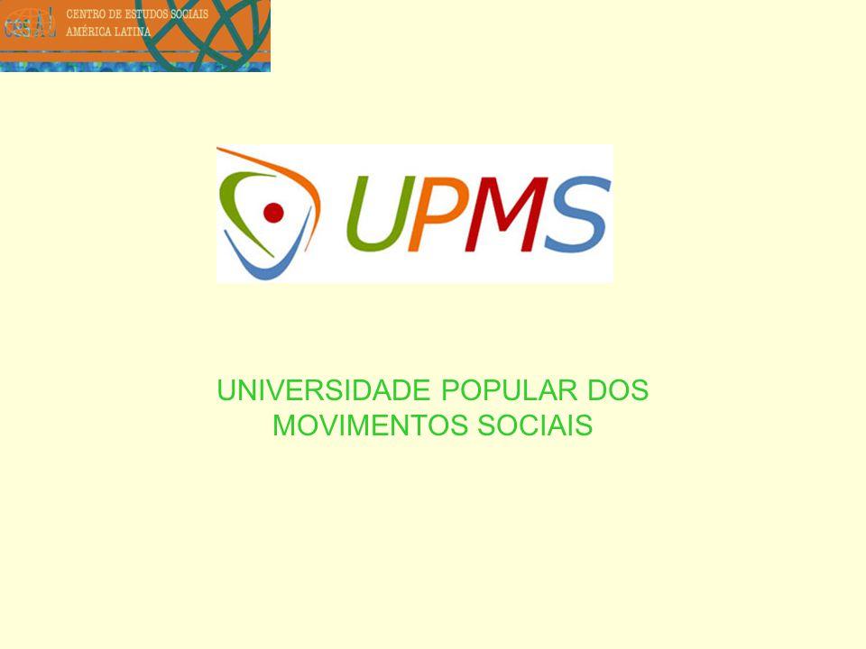 UNIVERSIDADE POPULAR DOS MOVIMENTOS SOCIAIS