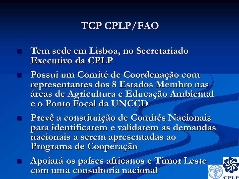 Atribuições do Comité de Coordenação Acompanhar e apoiar os Grupos de Trabalho/Comités Nacionais para a concepção do Programa de Cooperação e respectiva calendarização de trabalhos; Acompanhar e apoiar os Grupos de Trabalho/Comités Nacionais para a concepção do Programa de Cooperação e respectiva calendarização de trabalhos; Acompanhar os processos de consulta e debate público do Programa, em articulação com a equipa técnica do TCP CPLP/FAO; Acompanhar os processos de consulta e debate público do Programa, em articulação com a equipa técnica do TCP CPLP/FAO; Aprovar a versão final da proposta de Programa; Aprovar a versão final da proposta de Programa; Apoiar o Secr.