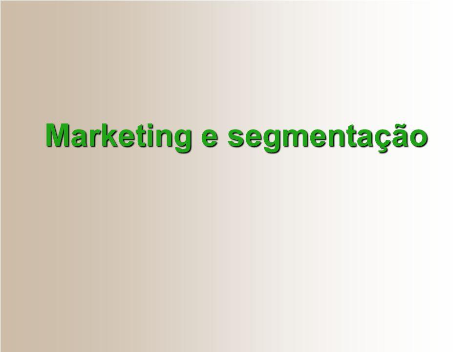 Marketing e segmentação