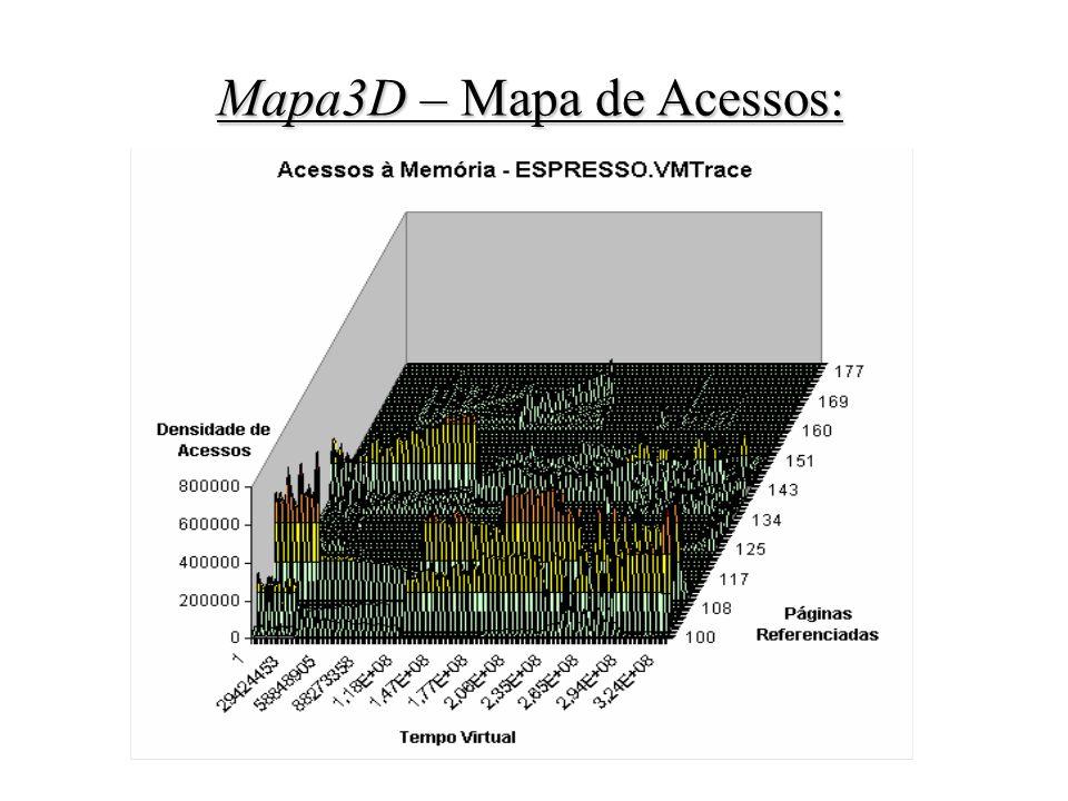 Mapa3D – Mapa de Acessos: