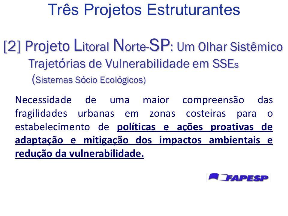 Como poderá ser a evolução dos padrões de vulnerabilidade socioecológica no Litoral Norte de São Paulo diante de distintos cenários sociais, políticos, ambientais e climáticos.