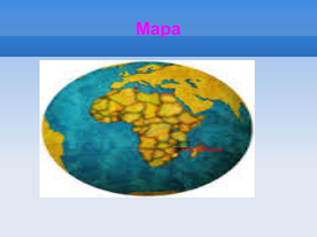 Mapa Moçambique
