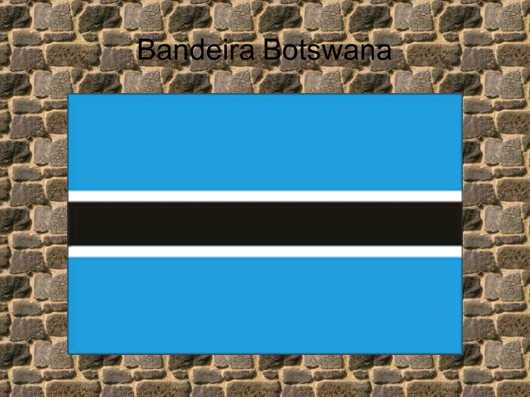 Bandeira Botswana