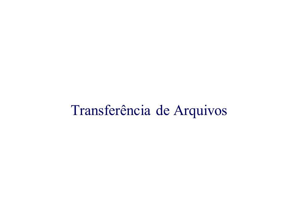 Transferência de Arquivos