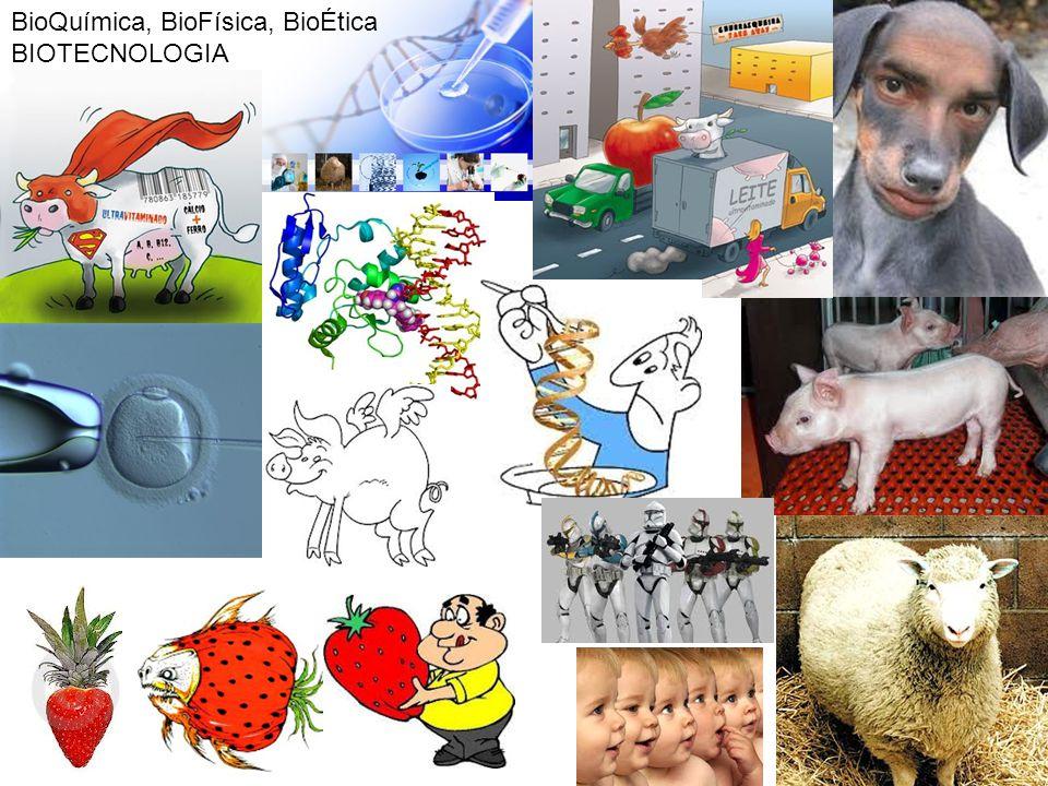 BioQuímica, BioFísica, BioÉtica BIOTECNOLOGIA