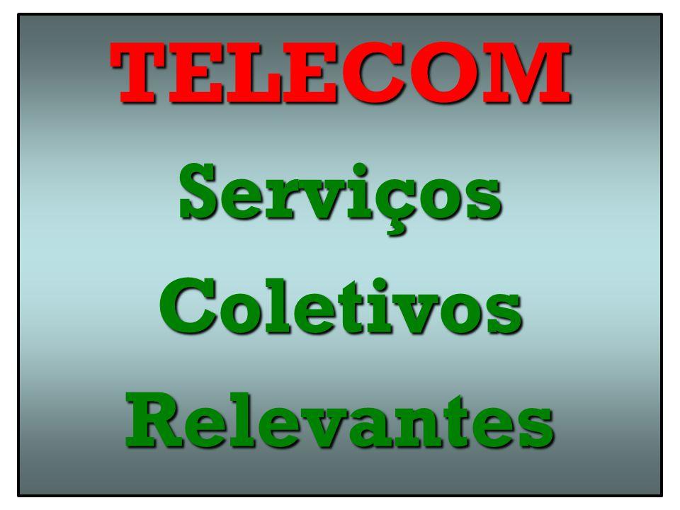 TELECOMServiçosColetivosRelevantes