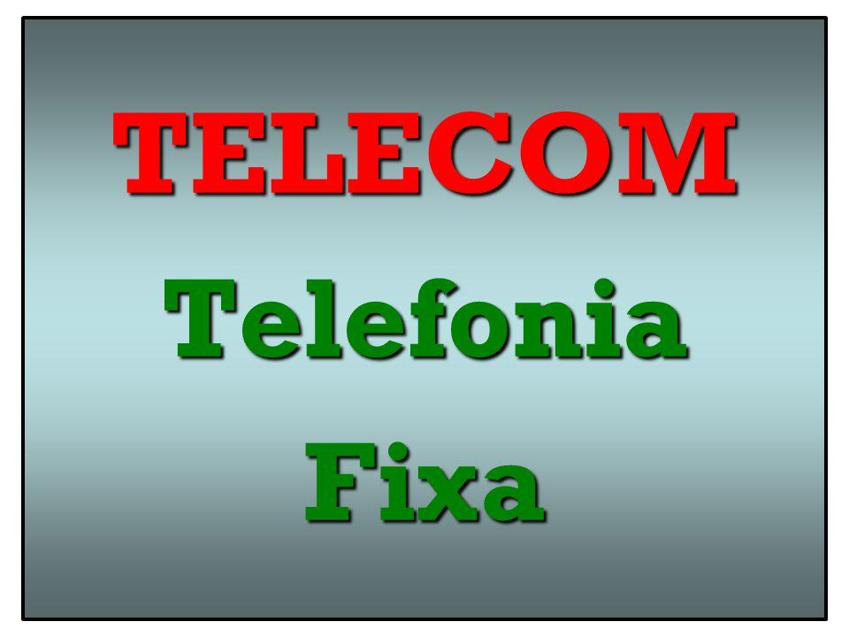 Telefonia FixaTelefonia Fixa Serviço Telefônico Fixo Comutado ( STFC – POTS – PSTN ) : Serviço Telecom para Transcepção de Voz / Sinais E.