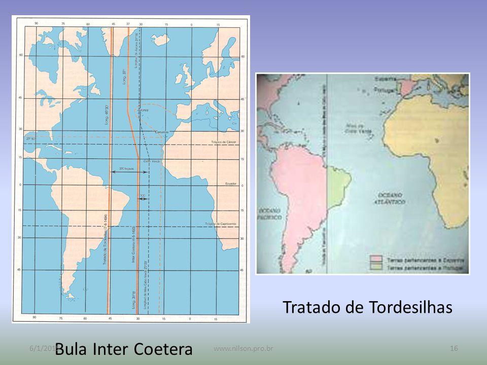 Bula Inter Coetera Tratado de Tordesilhas 6/1/201516www.nilson.pro.br