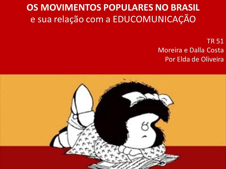 Referências bibliográficas Gohn MG.História dos Movimentos e Lutas Sociais.