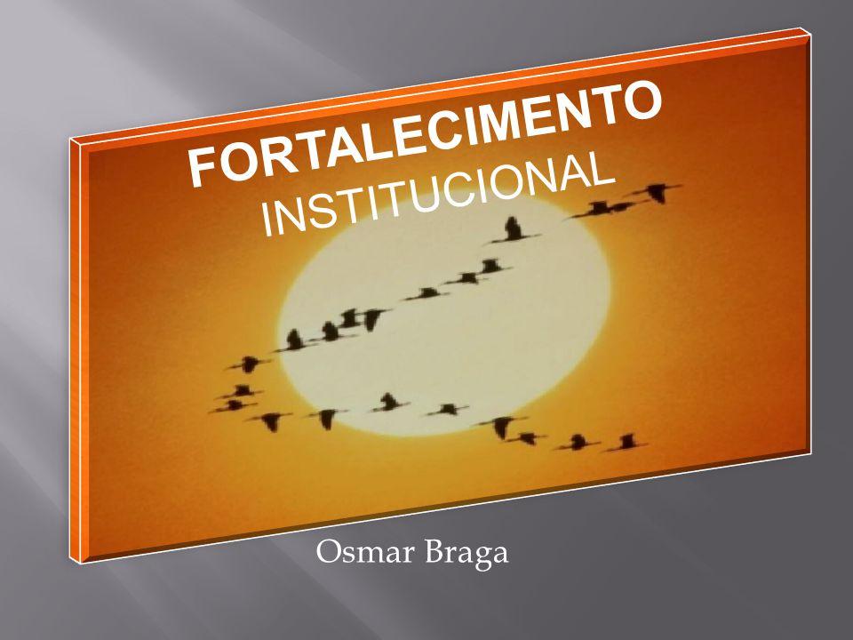 Sintetizando... Consolidação da POSIÇÃO ORGANIZACIONAL NO MUNDO Fortalecimento Institucional