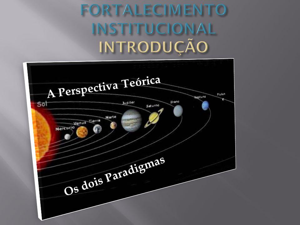 1 - Paradigma Clássico – newtoniano- cartesiano 2 – Paradigma Sistêmico