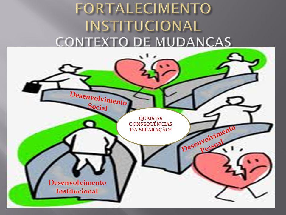 6 – Estar atento ao fato de que o FI deve incidir sobre: o padrão, a estrutura e o processo do organismo social.