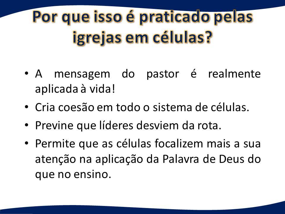 O momento de edificação é o período em que ocorrem três coisas: a interação por meio da Bíblia, a ministração e a oração.