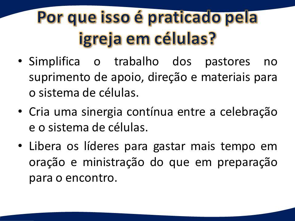 As perguntas dirigidas para a célula devem concentrar-se na aplicação à vida e na resposta a Deus.