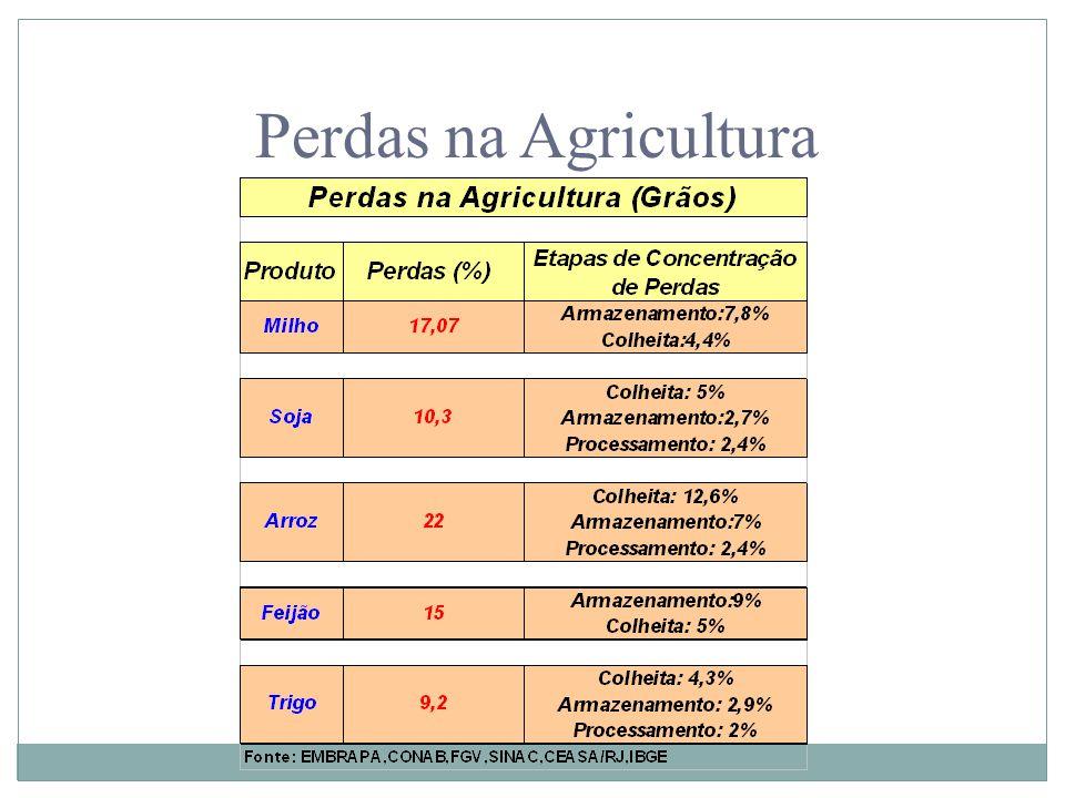 Perdas na Agricultura