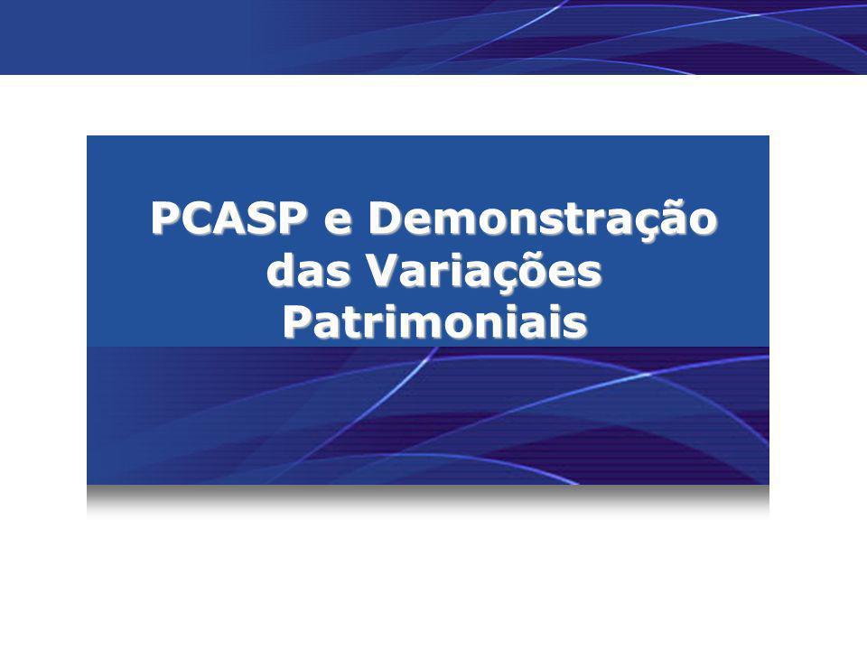 PCASP e Demonstração das Variações Patrimoniais