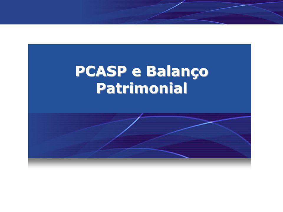 PCASP e Balanço Patrimonial