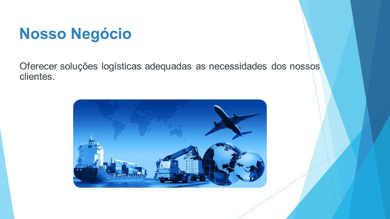 Missão Desenvolver, consolidar e posicionar-se como líder na prestação de serviços de transporte, armazenagem com alto valor agregado em todas as tarefas envolvidas.
