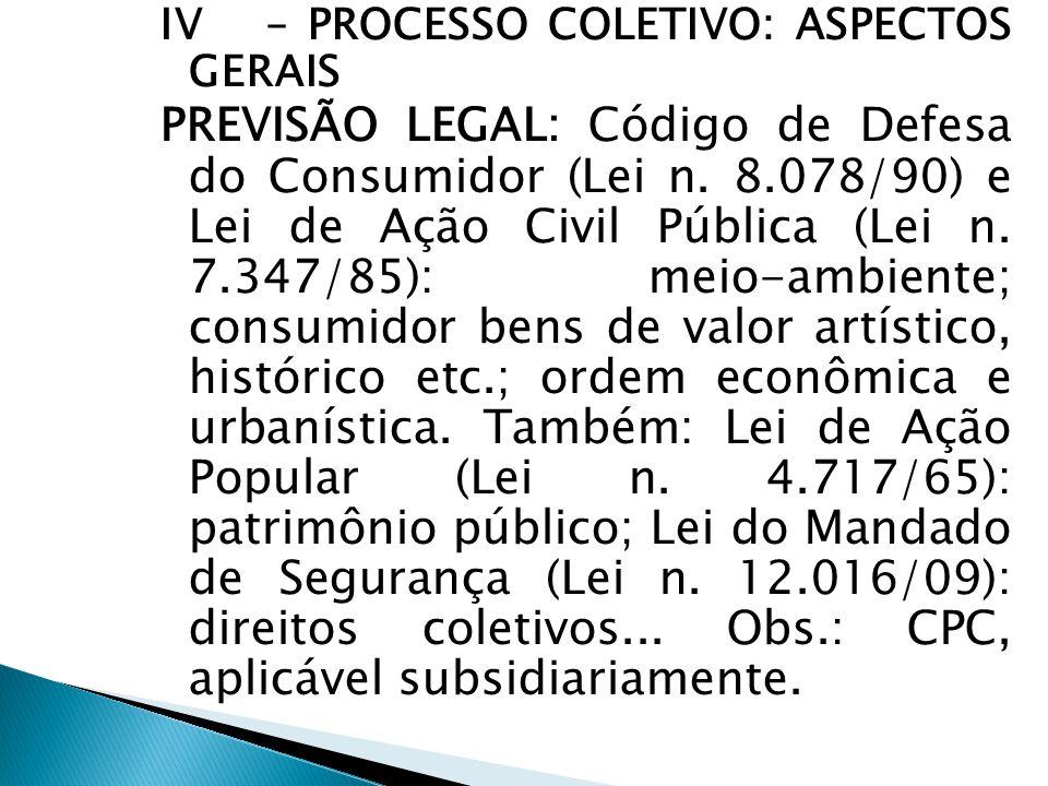  INQUÉRITO CIVIL: Procedimento administrativo investigatório do Ministério Público antes da fase da (instauração da) ação coletiva.