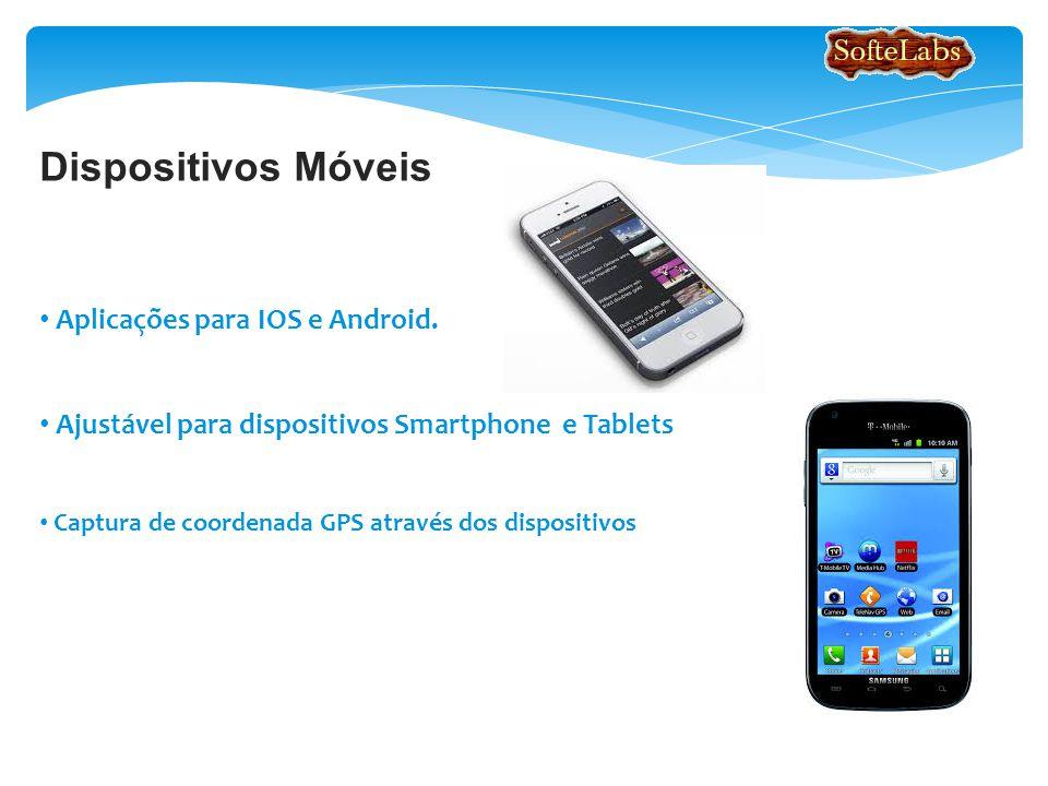 Dispositivos Móveis Aplicações para IOS e Android.