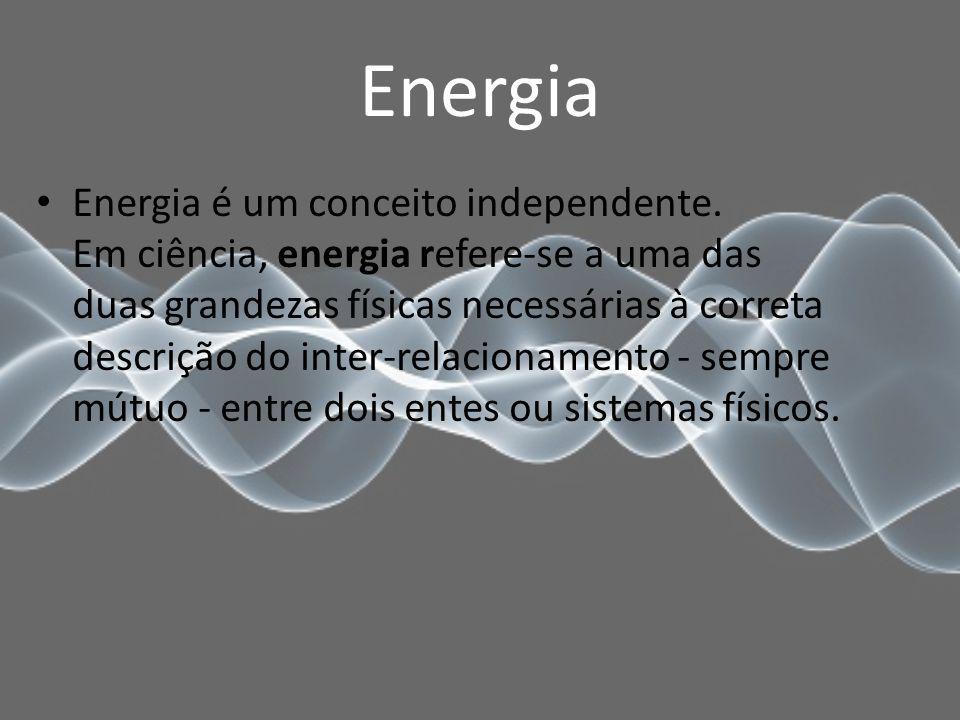 Energia Energia é um conceito independente.